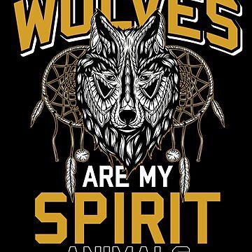 Wolf Spiritual Animal by GeschenkIdee