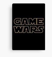 Game Wars Canvas Print
