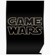 Game Wars Poster