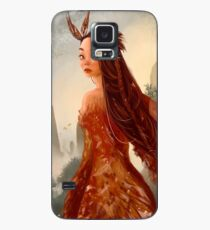 Mujer Ave Case/Skin for Samsung Galaxy
