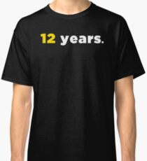 12 Jahre Green New Deal Classic T-Shirt