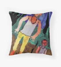 Holes Torn In The Fabric Of Reality Throw Pillow