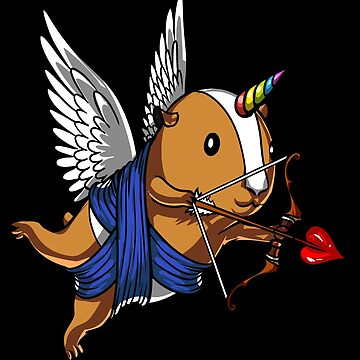 Guinea Pig Unicorn Magical Pet by underheaven