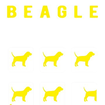 Stubborn Beagle tricks by goodtogotees