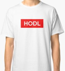 HODL (Bitcoin/Cryptocurrency) Classic T-Shirt