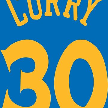 Steph Curry Jersey by RatTrapTees