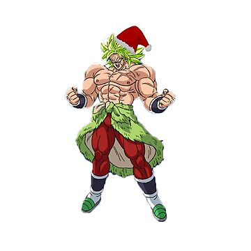 Santa Broly by JerryOfficial