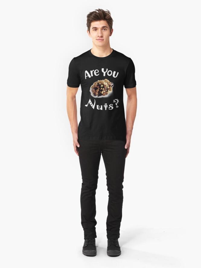 Alternative Ansicht von Are you nuts Slim Fit T-Shirt