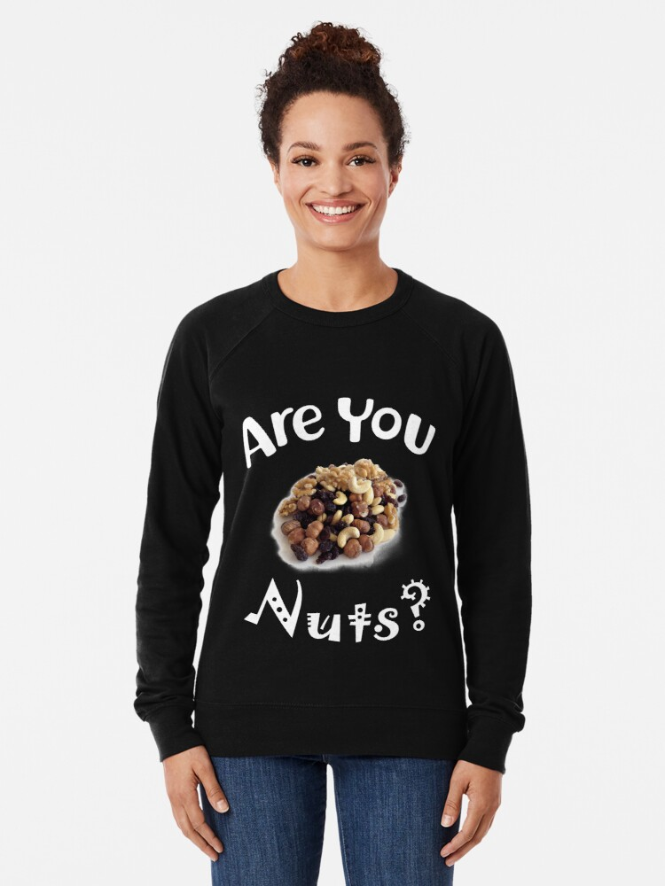 Alternative Ansicht von Are you nuts Leichter Pullover