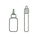 E-liquid bottles icon by 2vape