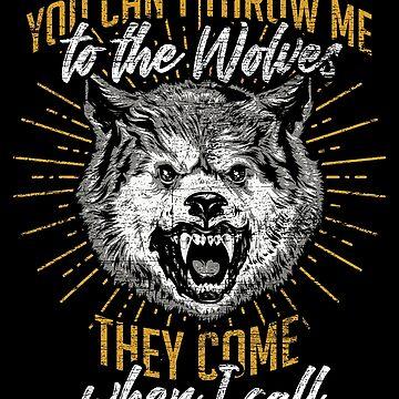 Wolf pack by GeschenkIdee