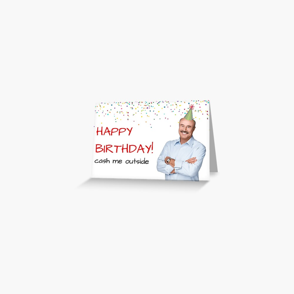 Dr Phil Birthday Card Sticker Packs Cool Crazy Cute Friendship Internet Memes Celebrity Talk Shows Occupations Parenting Banter