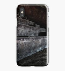 Abandoned theatre steps - architectual heritage iPhone Case/Skin