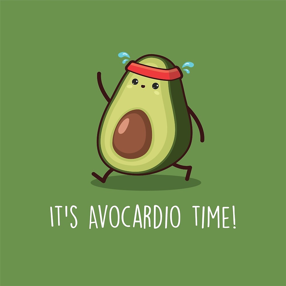 It's Avocardio Time! by Mark Julian Borg