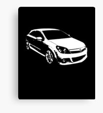 Vauxhall Opel Astra H OPC Canvas Print