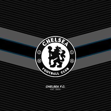Chelsea FC | est 1905 | Logo Design - Pillow | Phone Case | Tablet | T Shirt | Duvet | Mug | Clock | Poster | Home Decor and more by footballicon67