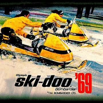 Ski doo Olympic Snowmobiles for 69 by midcenturydave