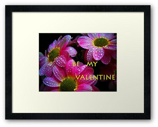Be my Valentine.Greeting card. by Vitta