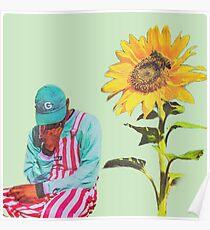 Blumenjunge Poster
