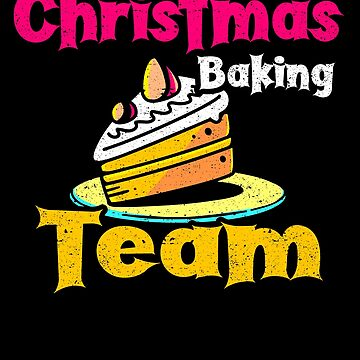 Christmas Baking Team Holiday Cookie Cook Sweet Food by kieranight