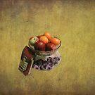 Coffee With Fruit by Linda Miller Gesualdo