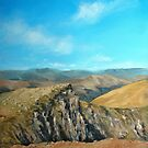 Distant hills by Carole Russell