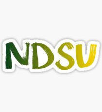 NDSU ombre Sticker