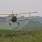 Spraying soybeans in Iowa. by SherryLynn58