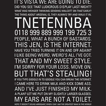 IT Crowd Quotes by MBPhotography94