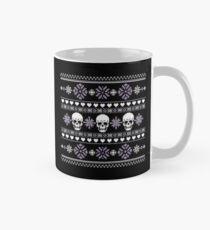 Winter Skull Pullover Lila Tasse (Standard)