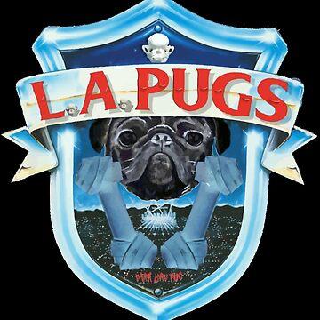 L.A. PUGS by darklordpug