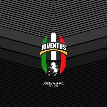 Juventus FC Alternate Retro Logo Design | est 1897 - Pillow | Phone Case | Tablet | T Shirt | Duvet | Mug | Clock | Poster | Home Decor and more by footballicon67
