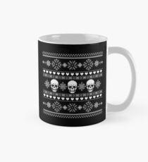 Winter Skull Pullover Grau Tasse (Standard)