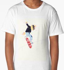 Don't Be a Jerk Skater Long T-Shirt