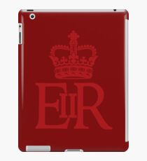 The Royal Cypher of Queen Elizabeth II iPad Case/Skin
