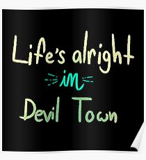 Life in Devil Town Poster