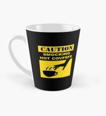 CAUTION: SMOCKING HOT COVFEFE Tall Mug