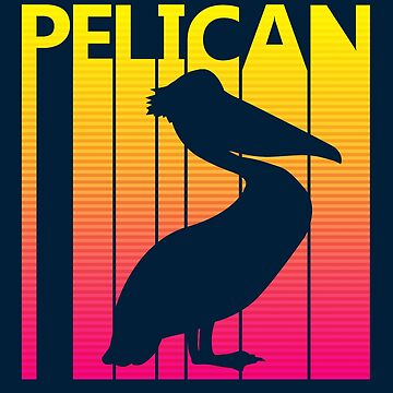 Retro 1980s Pelican by polveri
