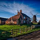 Mill House and Mill, Rolvenden by Dave Godden