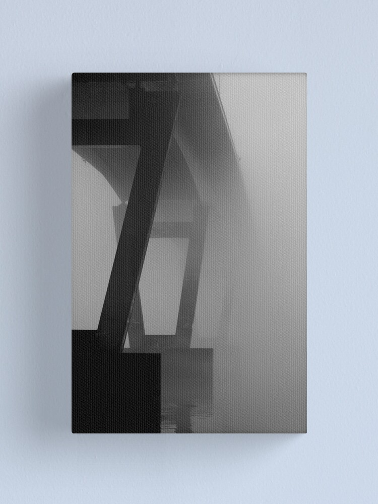 Alternate view of Bridge to Nowhere Canvas Print