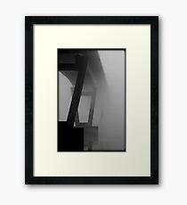 Bridge to Nowhere Framed Print