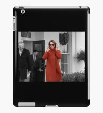 "Nancy Pelosi ""Back in Business"" iPad Case/Skin"