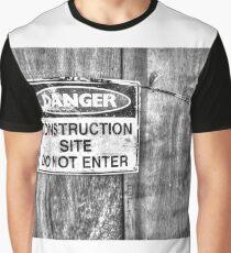 Construction Site. Graphic T-Shirt