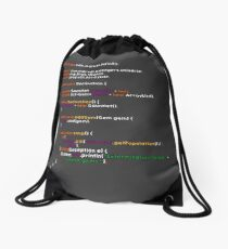 Snap Algorithm Drawstring Bag