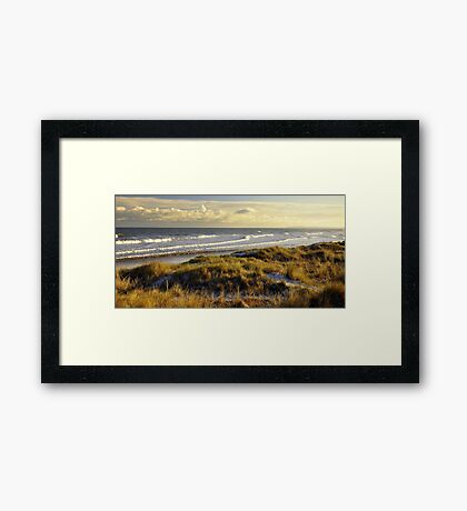 Mornington beach, Co Meath. Framed Print