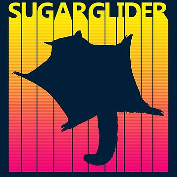 Retro 1980s Sugar Glider by polveri