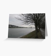 The River Lee Greeting Card