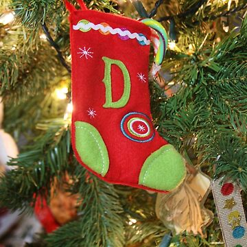Mini Stocking Christmas Ornament   by Gravityx9