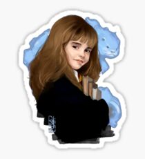 Hermione drawing Sticker