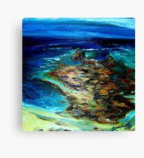 Pfeiffer Beach Tide Pool Canvas Print